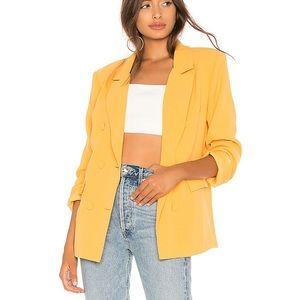 LOVERS + FRIENDS Noemi Blazer Jacket Honey Small